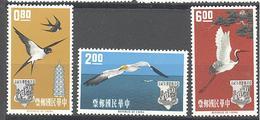 Formose: Yvert N° 434/436**; MNH; Oiseaux; Birds; Vogel - 1945-... République De Chine