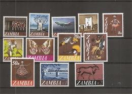 Zambie ( 39/50 XXX -MNH) - Zambie (1965-...)