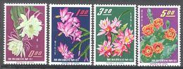 Formose: Yvert N° 455/458**; MNH; Fleurs - 1945-... République De Chine