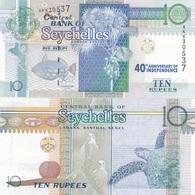 Seychelles - 10 Rupees 2013 / 2016 UNC Pick 52 Commemorative Lemberg-Zp - Seychellen