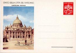VATICAN - - Postal Stationeries