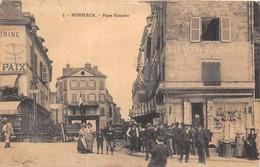 HONFLEUR  -  Place Hamelin Tres Animée - Honfleur