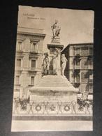 19909) CATANIA MONUMENTO A BELLINI VIAGGIATA 1907 - Catania