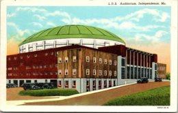 Missouri Inependence L D S Auditorium 1948 Curteich - Independence