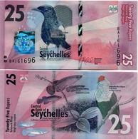 Seychelles - 25 Rupees 2016 UNC Lemberg-Zp - Seychelles