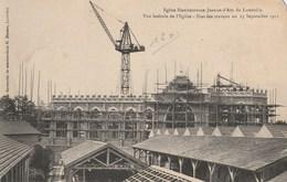 Eglise Bienheureuse Jeanne D'Arc De Lunéville - Etat Des Travaux Au 15 Septembre 1911 - Luneville
