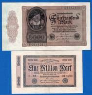 All  4  Billets - [ 3] 1918-1933 : Weimar Republic