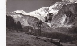 Saas Fee, Luftseilbahn, Spielboden (pk56827) - VS Valais