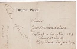 PEDRO ELIAS PABLO MONTT. PRESIDENTE CHILE 1906-1910 AUTOGRAPH CPA CIRCA 1906s ORIGINAL. RARISIME - BLEUP - Autographes