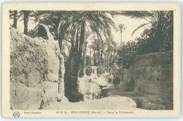 MAROC MAROKKO MOROCCO   CPA BOU-DENIB , DANS LA PALMERAIE - Morocco