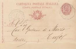 Luogosano. 1900. Annullo Di Collettoria Ottagonale LUOGOSANO  (AVELLINO), Su Cartolina Postale Completa Di Testo - 1900-44 Victor Emmanuel III