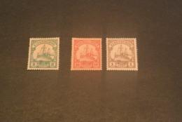 K19601 - Stamps Mint Kiaochow And Marshall-inseln - Yacht - 1900's - Colonie: Kiautchou