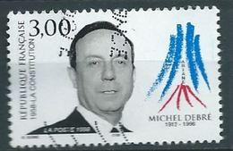 FRANCE 1998 MICHEL DEBRÉ (1912-1996) - THE 1958 CONSTITUTION USED YT 3129 MI 3269 SC 2622 SG 3462 - Frankreich