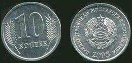 Transnistria 10 Kopeek 2005 UNC Bank Bag - Moldova
