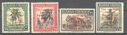 Ruanda Urundi: Yvert N° 150/153**; MNH; Croix Rouge - Ruanda-Urundi