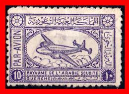 ARABIA SAUDITA (ASIA) SELLO AÑO 1949-58 AIRSPEED AMBASSADOR AIRLINER - Arabia Saudita