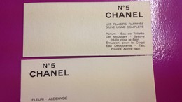 CHANEL N°5 - Perfume Cards