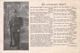 DIE SCHWARZEN JAGER-FREIKORPS BLACK HUNTERS-GERMAN MILITARY FELDPOSKARTE 1916 W RÖMER POSTCARD 39636 - Guerra 1914-18