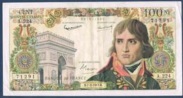 FRANCE 100 NOUVEAUX FRANCS BONAPARTE Fayette 59.20 N° 71291 A.224 En TTB - 1959-1966 ''Nouveaux Francs''