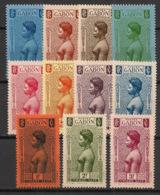 Gabon - 1932 - Taxe TT N°Yv. 23 à 33 - Série Complète - Neuf Luxe ** / MNH / Postfrisch - Neufs