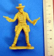 COWBOY  VINTAGE SOLDATINO GIALLO - Figurines