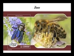 Sierra Leone 2019 Mih. 10222 (Bl.1564) Fauna. Bees MNH ** - Sierra Leona (1961-...)