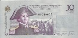 HAITI 10 GOURDES 2014 UNC P 272 F - Haïti