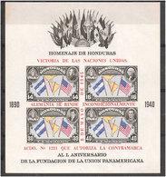 Guatemala 1945  Termination Of World War II. Mi  Bloc 2B   MNH(**) - Honduras