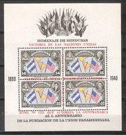 Guatemala 1945  Termination Of World War II.  Mi  Bloc 2A   MNH(**) - Honduras