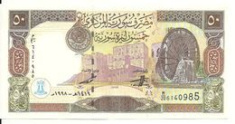 SYRIE 50 POUNDS 1998 UNC P 107 - Syrie