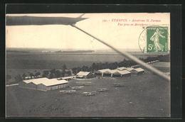 CPA Etampes, Aerodrome H. Farman, Vue Prise En Aeroplane - Etampes
