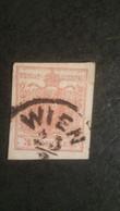 1er Timbre De L'Autriche-Hongrie 1850 , Timbre Poste Impèrial Et Royal - 1850-1918 Empire