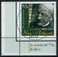 BRD 2008 Nr 2658 ESST Zentrisch Gestempelt ECKE-ULI X846426 - BRD
