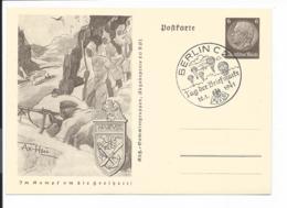 DR P 242-03 - 6 Pf Hindenburg Im Kampf Um Die Freiheit, Narvik-Gebirgsjäger M. Bl. Sonderstempel Berlin - Deutschland