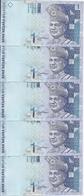 MALAYSIE 1 RINGGIT ND1998-  UNC P 39 ( 5 Billets ) - Malaysia