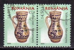 RUMÄNIEN 2005 - MiNr: 6012 Paar Used - 1948-.... Republiken