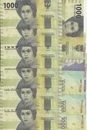INDONESIE 1000 RUPIAH 2016 UNC P 154 ( 10 Billets ) - Indonésie