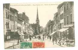 69 - VILLEFRANCHE SUR SAONE Rue Nationale - Porte De Belleville - Villefranche-sur-Saone