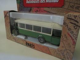 """AUTOBUSES DEL MUNDO - FRANCIA:"""" RENAULT TN6, - PARIS"""". - Camiones, Buses Y Construcción"""