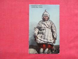 Prospecting For Diner  Find The Baby  Alaska   Ref 3218 - Indiens De L'Amerique Du Nord