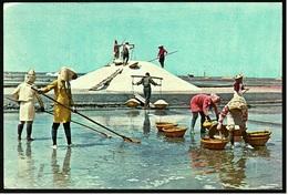 The Salt Marsh In Southern Taiwan  -  Ansichtskarte Ca.1972    (9596) - Taiwan