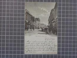 9335) Hungary Hongrie üdvözlet Bajaról Báró E+otvös József Uteza 1900 - Ungheria