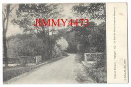 CPA - Forêt De Tronçais En 1921 - Le Pont De Saloup Route De Meaulne 03 Allier - Edit. G. Bodard Lib  N°114 Recto-Verso - Bourbon L'Archambault