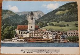 St. Wolfgang Am Wolfgangsee Mit Schafberg Kirche Hotel Im Weissen Rössl - St. Wolfgang