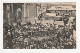 """GUIGNEN - CHAR BATEAU """"LE GUIGNEN"""" - LA FETE DU 16 JUIN 1907 - 35 - France"""