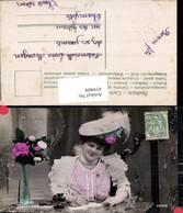 459808,Frau Edwardian Girl Hut Hutmode Hat Fashion Beauty Woman Photo Postcard - Frauen
