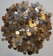 LOT 4 KILOS PIECES DU MONDE. - Coins & Banknotes