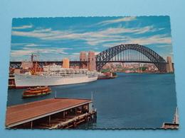 HARBOUR Bridge And Overseas Terminal ( Ship IBERIA ) ( Kruger ) Anno 19?? ( Zie/voir Photo ) ! - Sydney