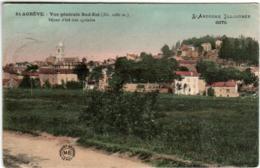 41ig 1104 CPA - SAINT AGREVE - VUE GENERALE - Saint Agrève