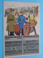 GROOTE HISTORISCHE STOET Te Brussel ( 100ste Verjaring Onafhankelijkheid ) Anno 1930 ( Zie/voir Photo ) ! - België